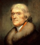 Few people know that Thomas Jefferson gave us our decimal money (10 dimes and 100 pennies)