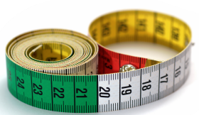 Metric measuring tape