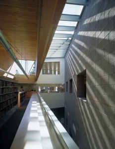 Interior of Mesa Public Library