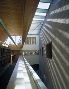 Interior of Mesa Public Library