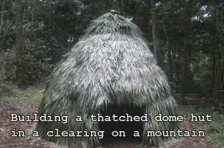 Modern, but primitive, hut