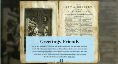 Sifter welcome page